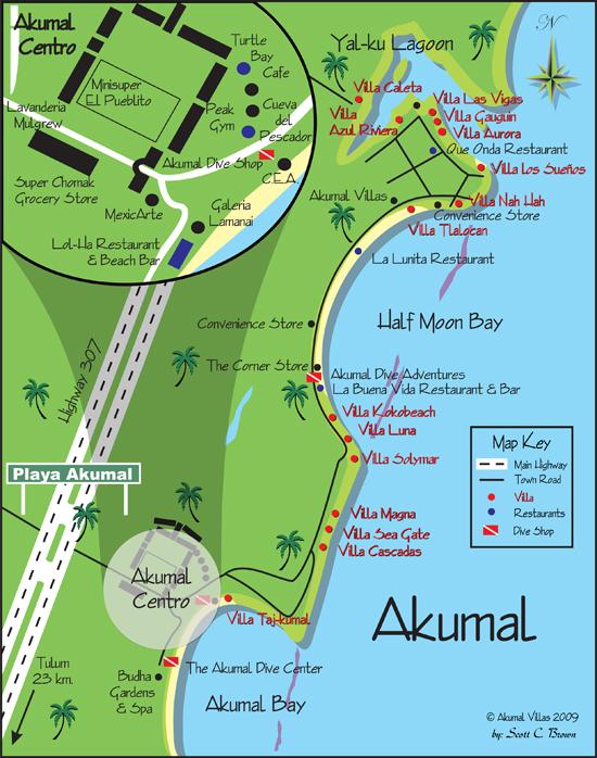 Akumal - Yalku - Riviera Maya